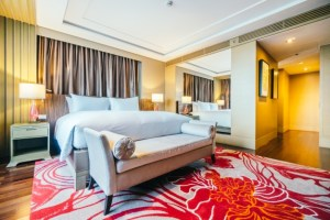 Thick luxury carpet