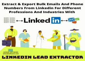 Extract & Export Bulk Emails And Phone Numbers