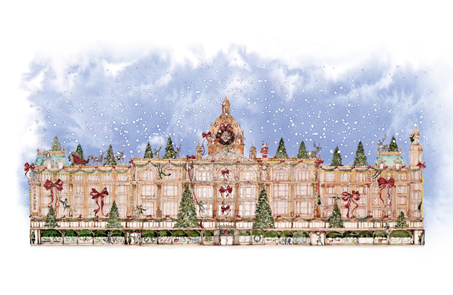 Celebrate At The Festival Of Christmas At Harrods Global
