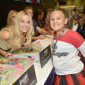 Suicide Squad Cast Signing at San Diego Comic Con 2016 Margot Robbie
