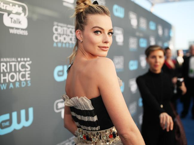 2018 Critics' Choice Awards Margot Robbie