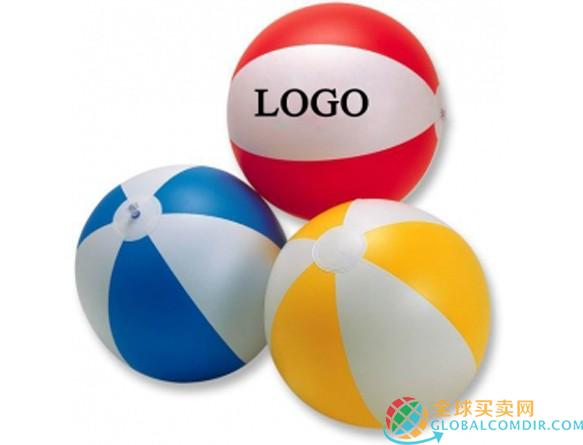 Wasserbälle mit eigenem logo als Werbeartikel Werbegeschenke Werbemittel bedrucken lassen bei PromoKaiser.com