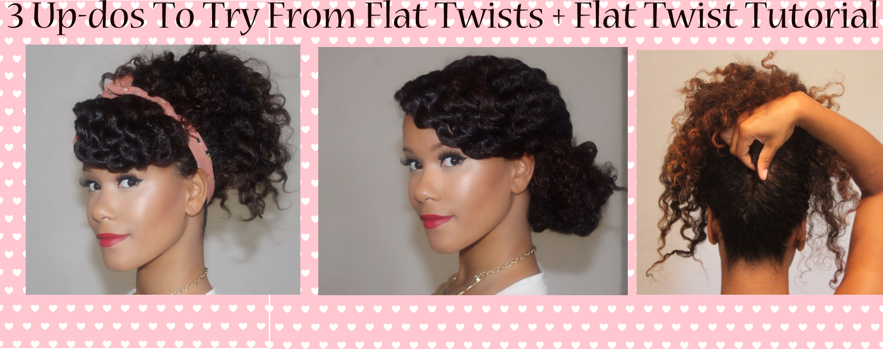 Easy Updo For Natural Hair Find Your Perfect Hair Style