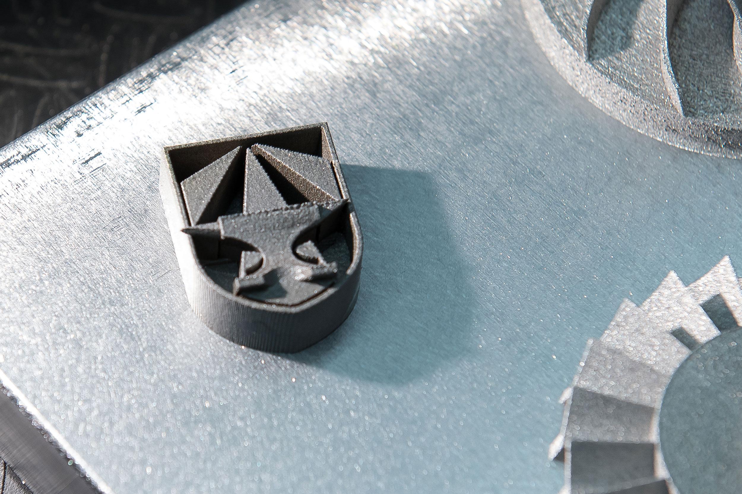 3D printed metal alloy