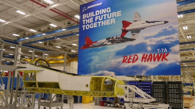 Boeing Starts Production Of T-7A Red Hawk – Global Defense Corp