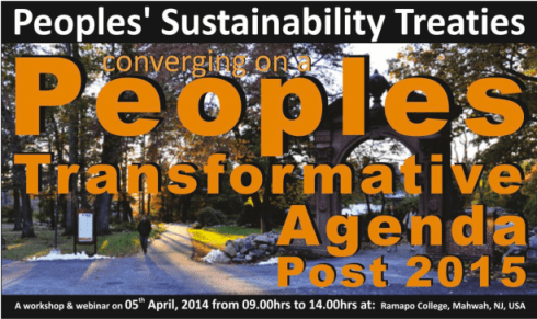 peoples transformative, agenda 2015