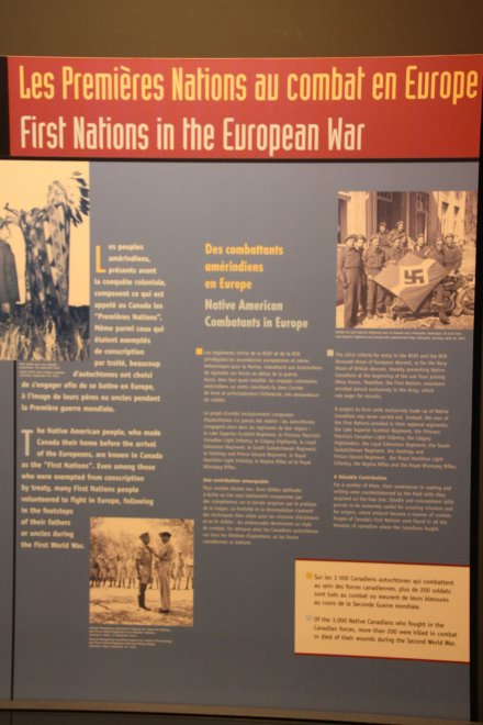 First Nations in the European War