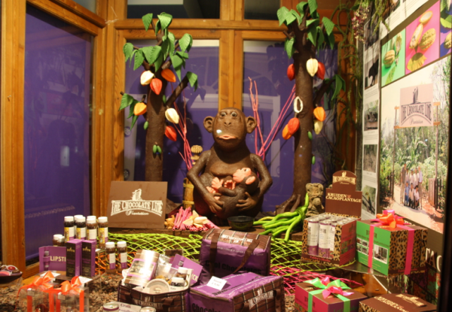 This is made entirely out of chocolate!