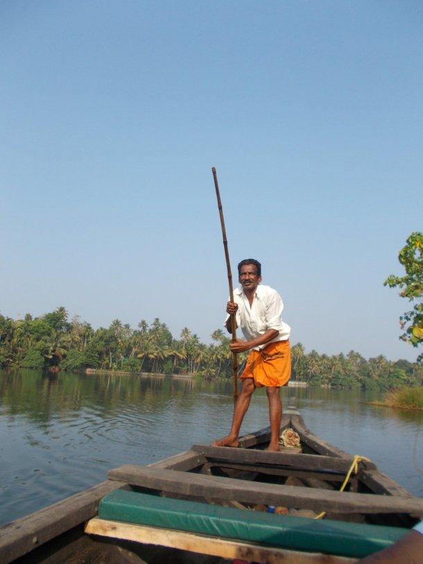 Our boatman