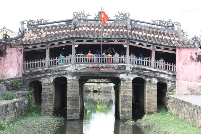 Japanese Covered Bridge - a UNESCO site