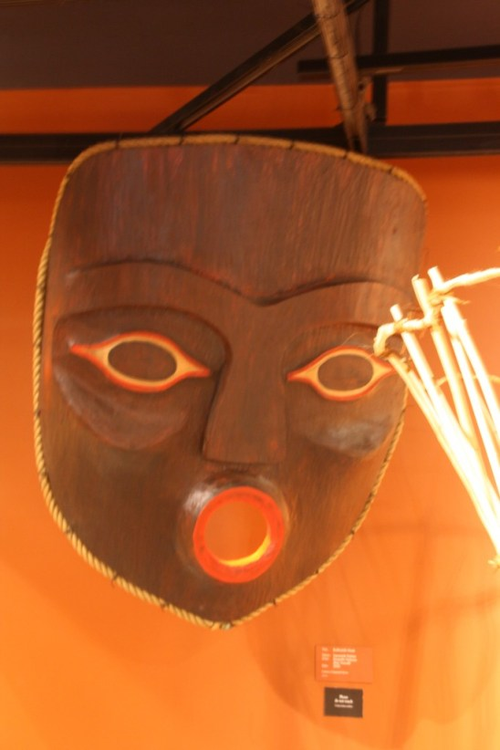 The lady's mask