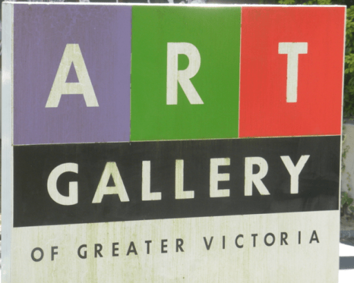 The art gallery sign