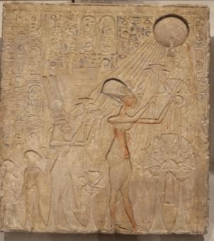 "Atun was the ""One God"" - the God of the Sun."