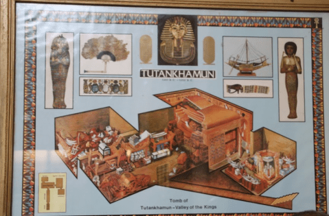 Layout of the Discovered Tomb with Treasures piled up everywhere!