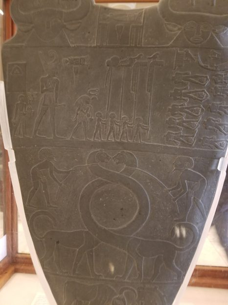 Side 2 of the Narmer Palette