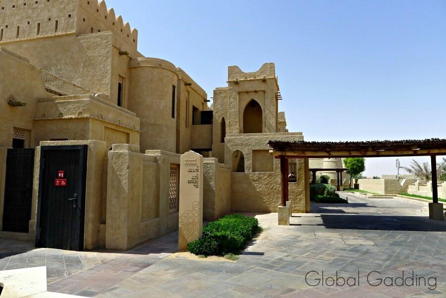room complex at qasr al sarab resort