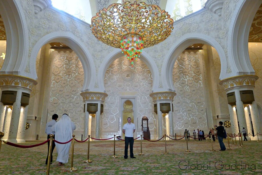 main prayer hall sheikh zayed grand mosque