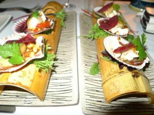 FINE DINING AT NAUTILUS RESTAURANT, PORT DOUGLAS