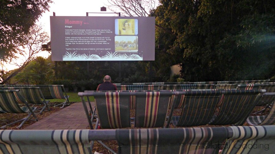 darwin deckchair cinema