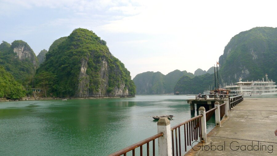 Dock At Cat Ba National Park