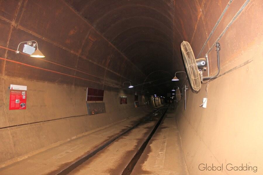 World war II Oil Storage Tunnels Darwin