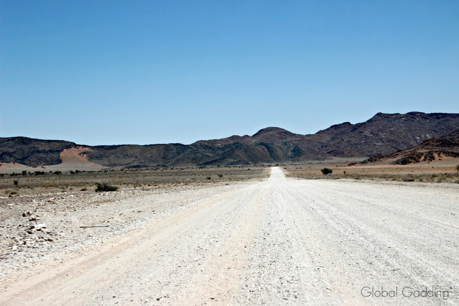 Namiabia Roads Gravel