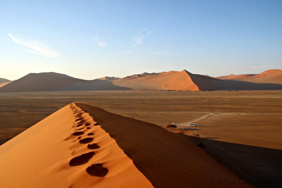 Dune 45 Peak Sossusvlei