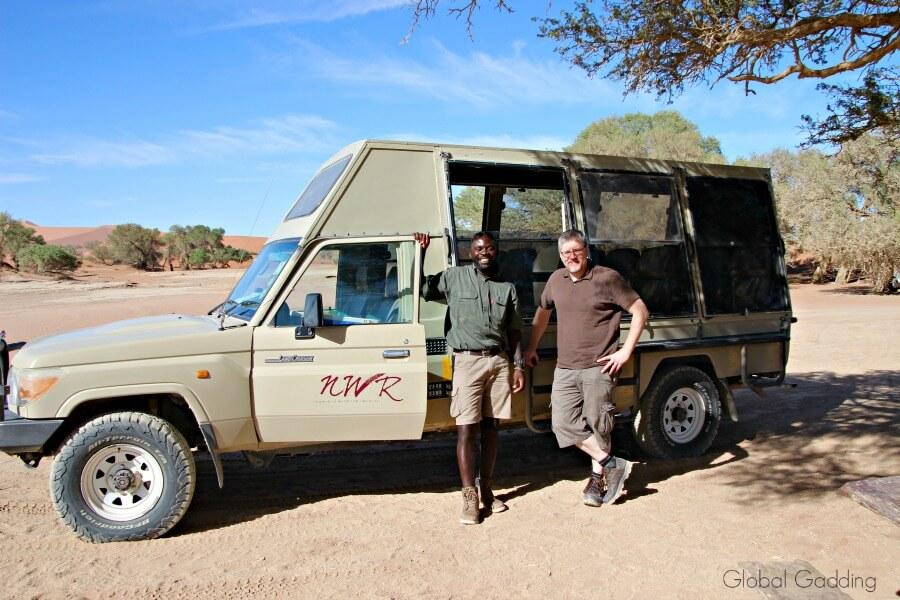 sossus dune lodge tour guide