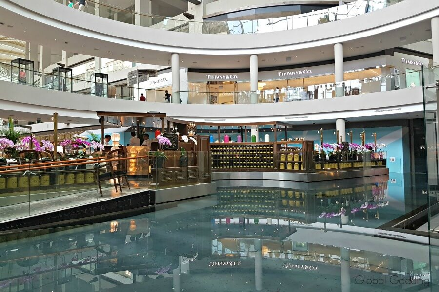 Singapore Shopping mall