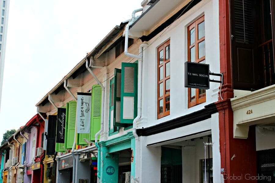 3 day guide to singapore haji lane