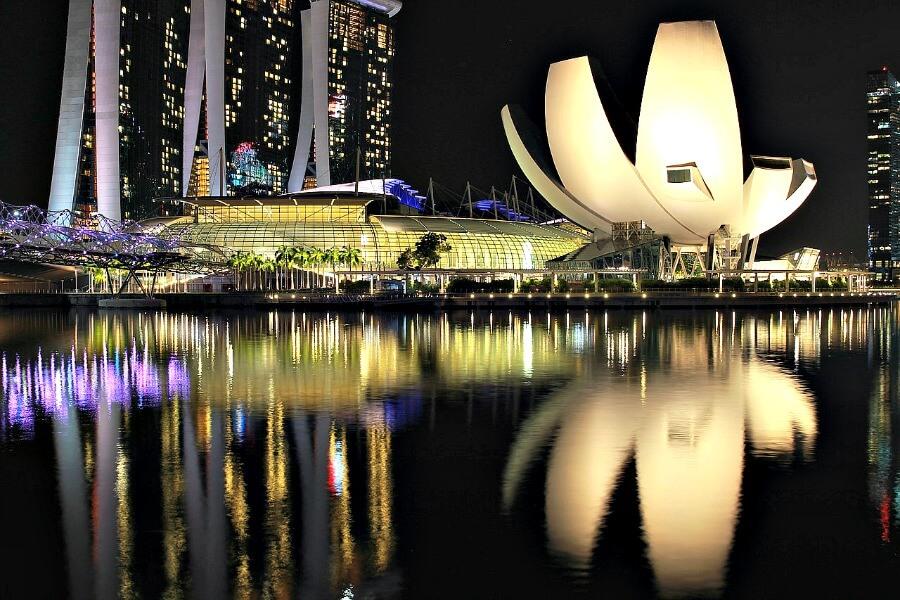 singapore arts science museum