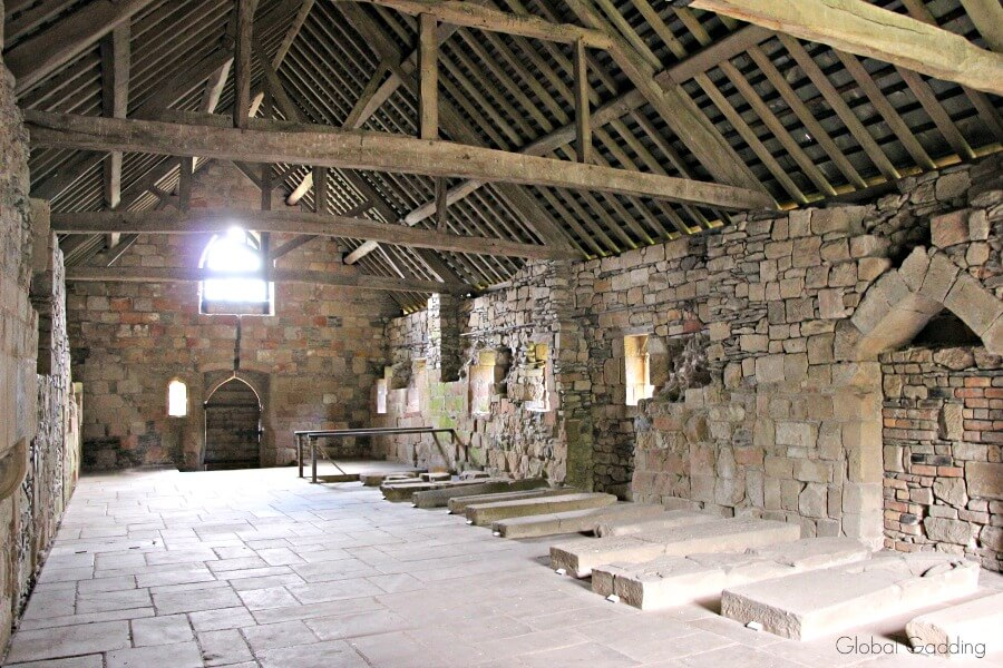 valle crucis abbey dormitory