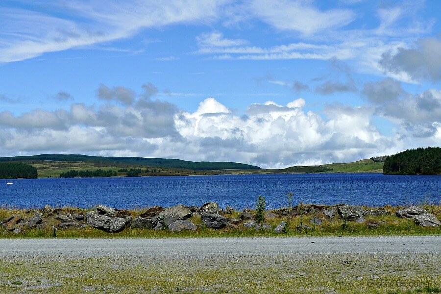 Llyn Brenin Reservoir North Wales