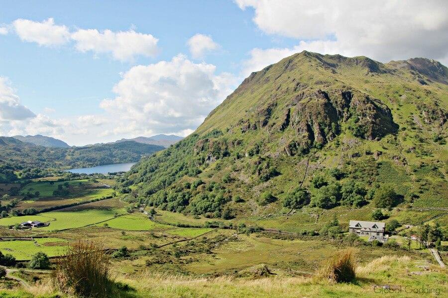 Snowdonia Mountain Range Llyn gwynant