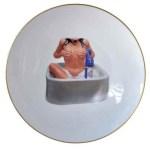 JEFF KOONS Untitled (bathing nude)