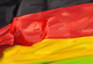Alexander Morgen Flag – Rot ist die Mitte - A.P. ASTRA AND MICHAEL JANSEN  - Flag – Rot ist die Mitte