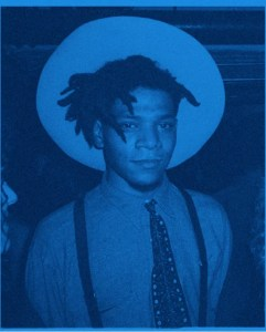 George-Dubose-Holy-Glory-II-Blue-Jean-Michel-Basquiat