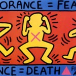 Keith Haring IGNORANCE - Benefits of private art sales