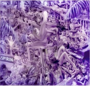 JOE BROCKERHOFF Paradise Aspirin - JOE BROCKERHOFF - Paradise (Aspirin) Mixed media