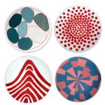 Louise Bourgeois de à l'oubli Plate Red Dots a.o. 4 plates e1563470627678 - Interior Art