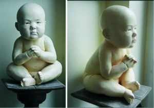 SEUNG KOO LEE Untitled waiting child - SEUNG-KOO-LEE - Untitled (waiting child)