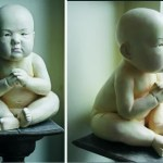 SEUNG KOO LEE Untitled waiting child - Sculptures