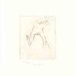 Beuys Frau rennt weg mit Gehirn - Graphics