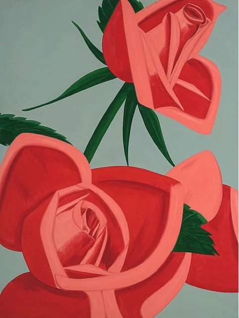 Katz Rose Bud - ALEX KATZ - Rose Bud