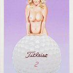 Mel Ramos Titleist Tillie serigraphy - Graphics