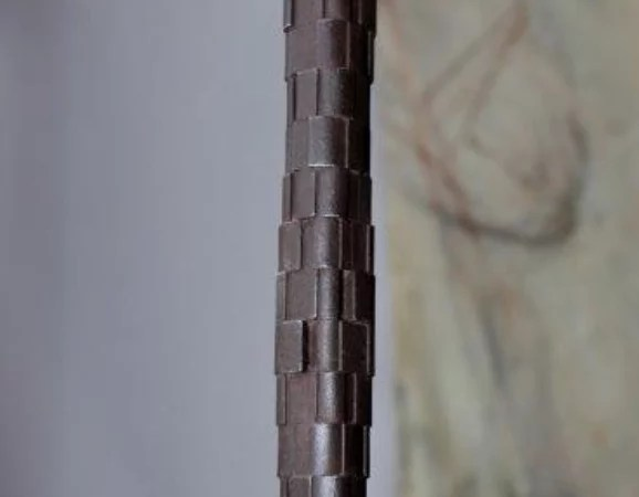 Peter Jacobi - Modular column, iron cast. Global Galleries
