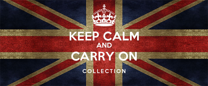 Animal Bedroom Wallpaper Feature Keep Calm And Carry On Global Gallery