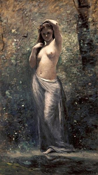 JeanBaptisteCamille Corot  Nymph at The Source  Art