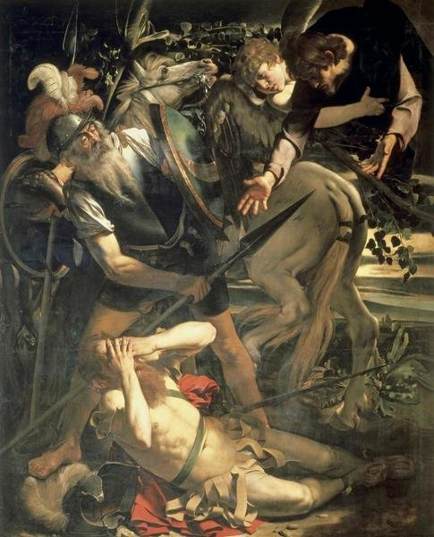 Caravaggio  Conversion of St Paul  Art Print  Global Gallery
