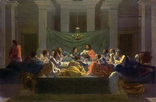 Nicolas Poussin  The Last Supper  Art Print  Global Gallery